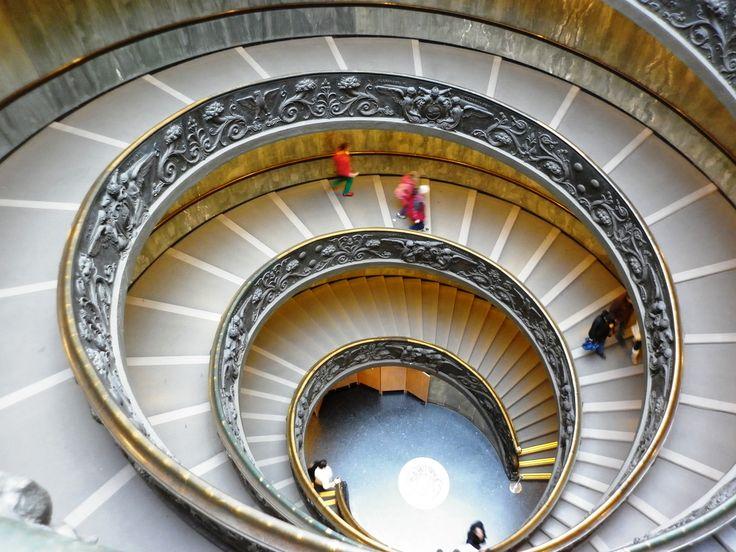 Escalera del vaticano