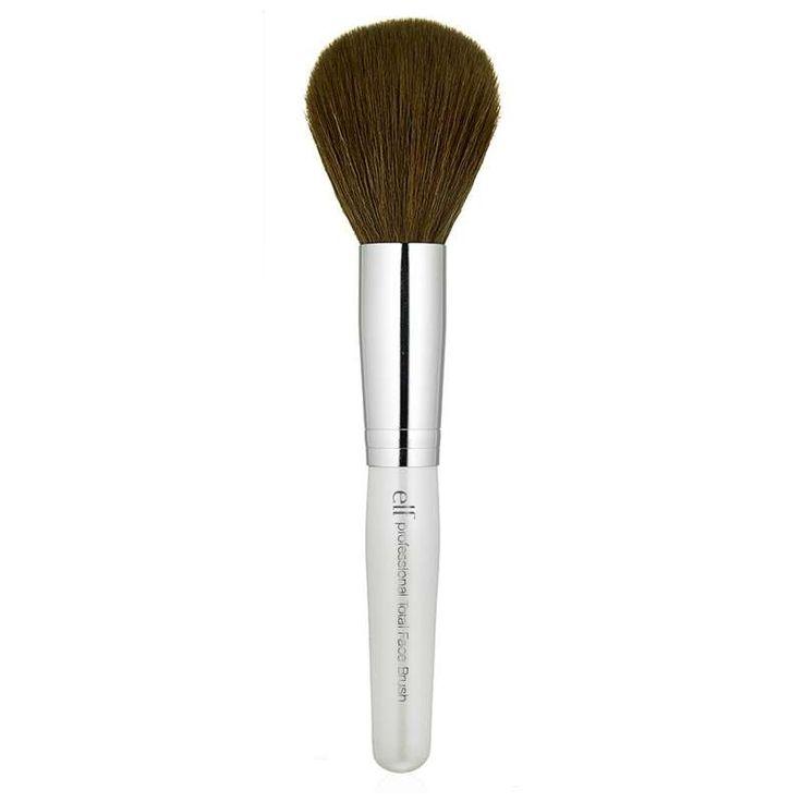 <h2>Pinceau de maquillage</h2> <p>Ses poils doux en fibre synthétique vous garantissent une application optimale de vos poudres.Sa forme légèrement conique est idéale pour appliquer la matière sur l'ensemble du visage. A vous le teint unifié!</p>