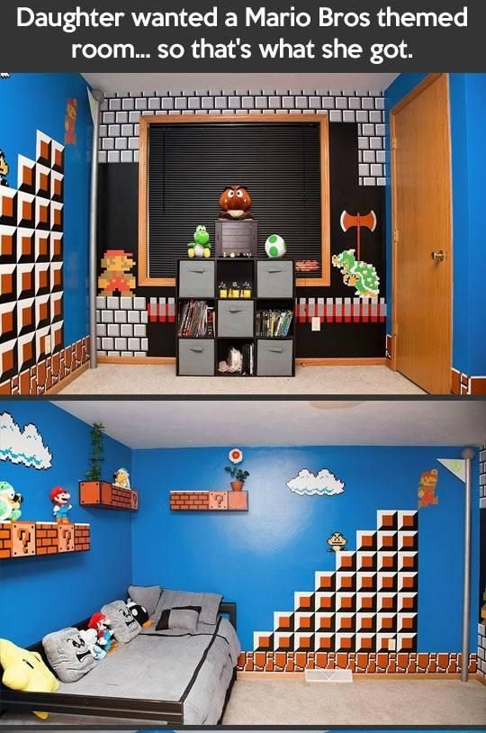 Classic Nintendo room