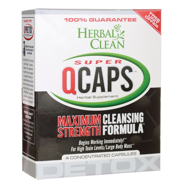 Super QCaps Maximum Strength Cleansing Formula, 4 Caps AED233.00 #UAESupplements