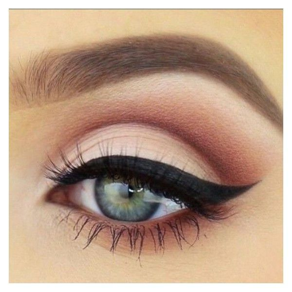 Image result for pink eyeshadow   Makeup for life   Pinterest ❤ liked on Polyvore featuring beauty products, makeup, eye makeup and eyeshadow