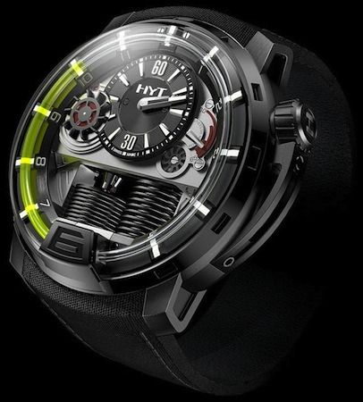 Hydromechanical watch
