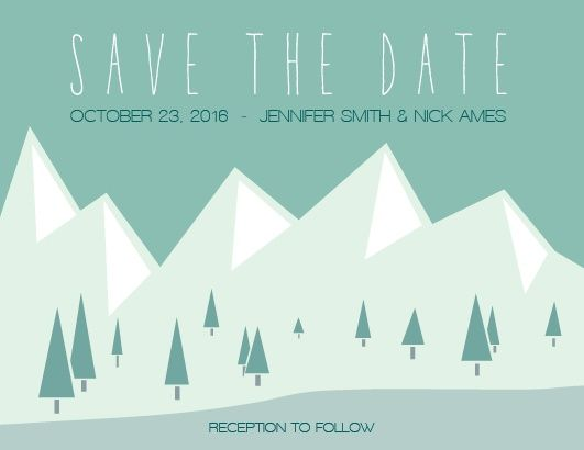 """Decided on your wedding date? Let the whole world know! Stand out from all the rest with our mountain themed <a class=""""crosslink"""" href=""""https://www.basicinvite.com/events/wedding/save-the-date/cards.html"""" target=""""_self"""" alt=""""Save the Date Cards Online"""" title=""""Save the Date Cards Online"""">Save the Date</a> card.</p>"""