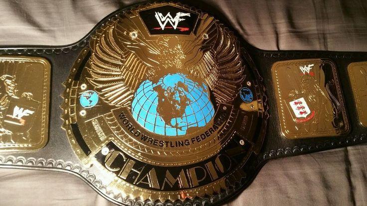 WWF WWE Attitude Era Big Eagle World Championship Belt Re-Leathered