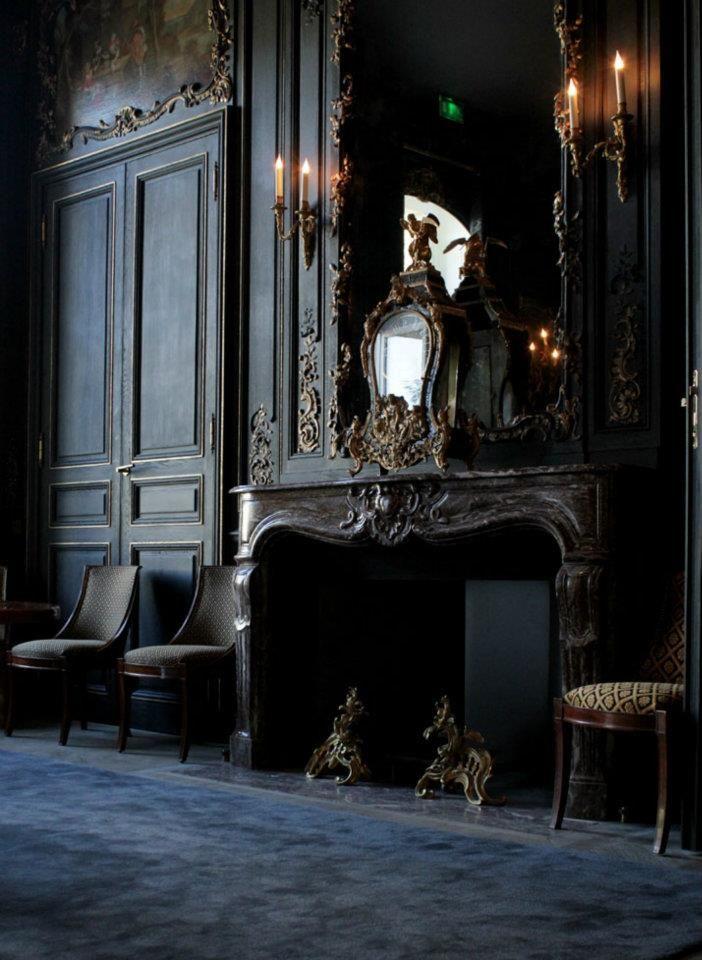 best 25 gothic interior ideas on pinterest. Black Bedroom Furniture Sets. Home Design Ideas