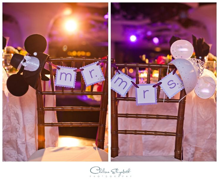 Mickey & Minnie Mouse Theme | Disney Theme Wedding | By: Chelsea Elizabeth Photography | http://chelseaelizabeth.com/