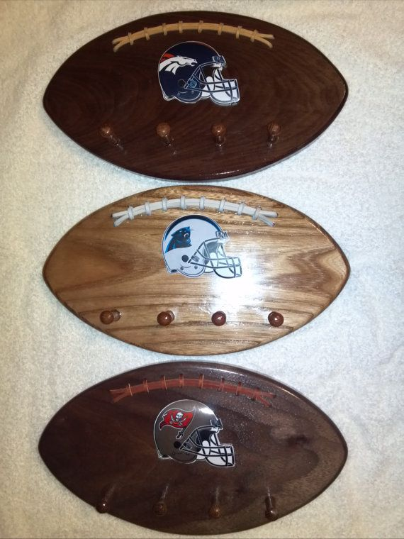 Broncos Panthers Buccaneers 49ers Football Wall by WoodItBeNice