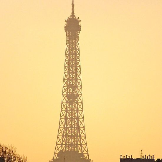 Eiffel Tower sunset, Paris. France