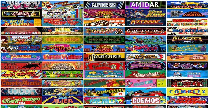 Juega más de 900 juegos clásicos de Arcade desde tu navegador!