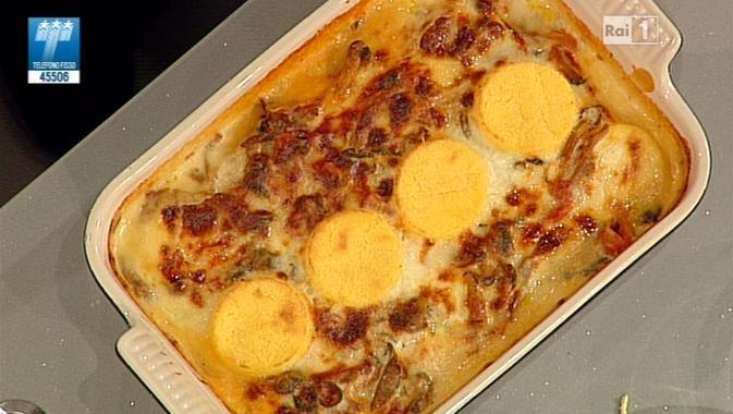 La ricetta della polenta pasticciata di Luisanna Messeri del 12 dicembre 2013 - La prova del cuoco