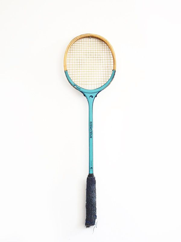 raqueta tenis azul