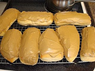 These Maple Bars look amazing and I love that they are baked and not fried! To make them you need: Maple Bars 1 1/2 cups milk 1/3 cup shortening (I used butter flavored Crisco) 4 Tablespoons  granulated Sugar 2 teaspoons salt 2 teaspoons cinnamon 1/4 cup lukewarm water 2  (1/4 ounce) envelopes yeast 2 large …