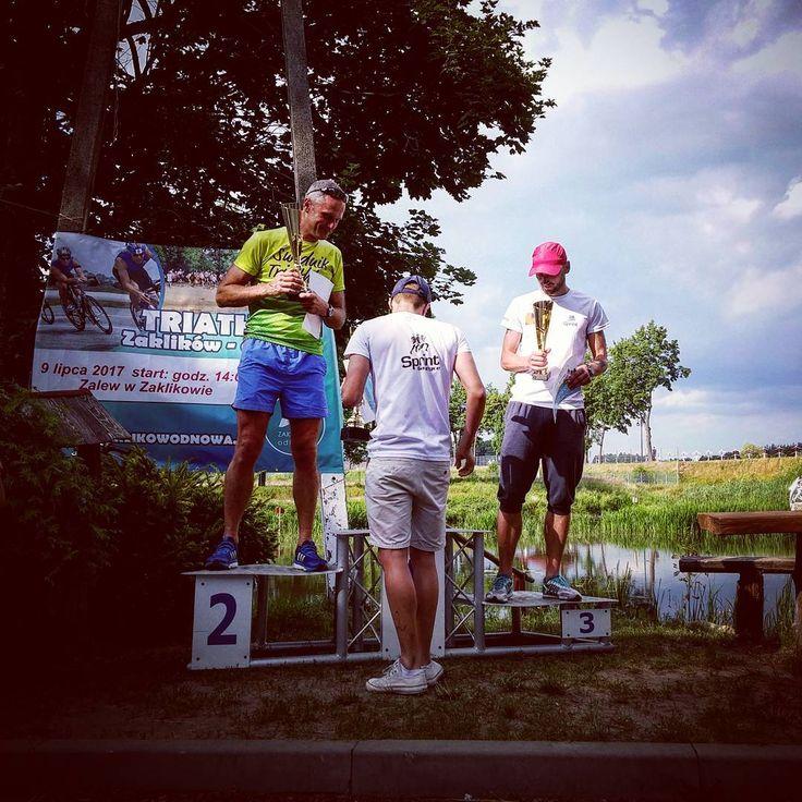 I did it! First place at Amateur Triathlon in Zaklikow. Time: 1:07:50. Swimming 1:40min/100m, bike: 37.3km/h, run: 3:58min/km // Udało się! Pierwsze miejsce w generalce w Amatorskim Triathlonie w Zaklikowie #competition #ambrosio #run #triathlon #polishtriathlon #swimming #swimmer #bieganie #biegambolubie #biegacz #rowery #bike #biker #pływanie #podium #pierwszy #szosa #czasowka #triathlete #triathlonista #tri #zaklików #zalew #zalewzaklikow #triathlonzaklikow…