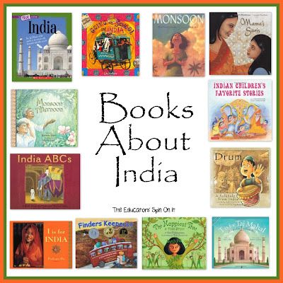 Books about India.  Sharing Cultures with children through books is a great way to explore the vocabulary and diversity around the world!