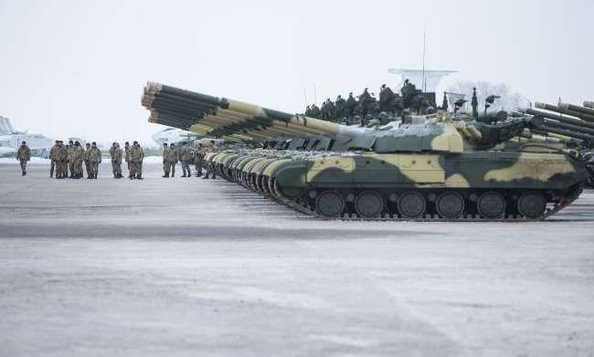 Передача нової техніки Збройним Силам України, Чугуїв, 6 грудня 2014 #ukraine #military #army