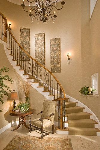 Best 25+ Stairway wall decorating ideas on Pinterest | Staircase ...