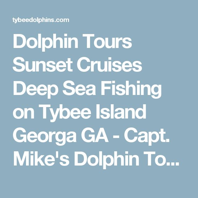 44 best savannah bound 2018 images on pinterest viajes for Deep sea fishing savannah ga