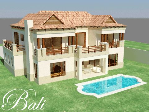 House plans with photos google zoeken house plan Bali house designs floor plans