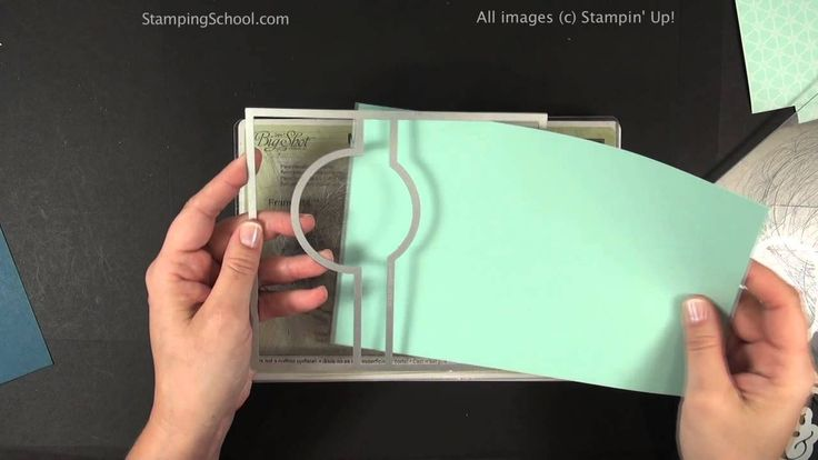 Thinlits Card Die Tips. A quick video showing how to layer the Stampin' Up Thinlits Flip card dies as well as how to make the extension flap for more writing room. created Oct 1 2013
