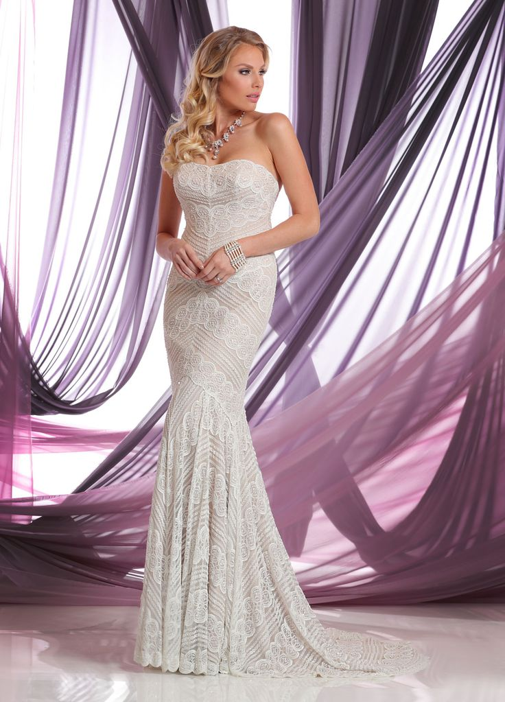 DaVinci Bridal Gowns available at Nikki's!