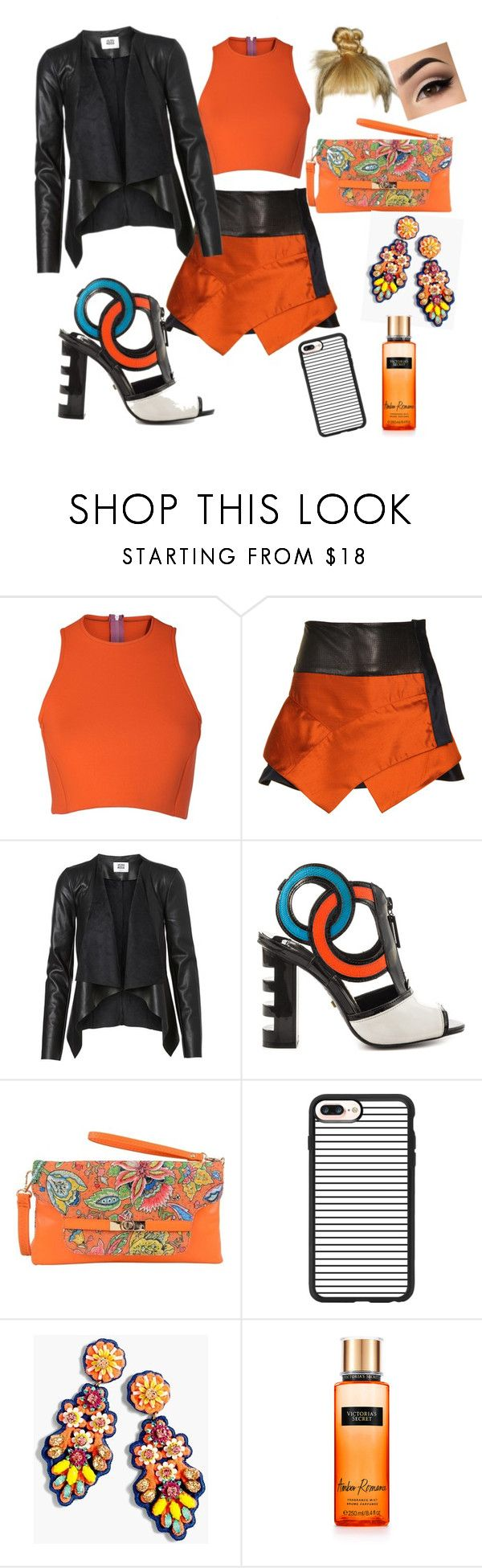 """""""Bad AZZ!!"""" by gigiglow ❤ liked on Polyvore featuring Sydney-Davies, Proenza Schouler, Kat Maconie, Mellow World, Casetify, J.Crew and Victoria's Secret"""