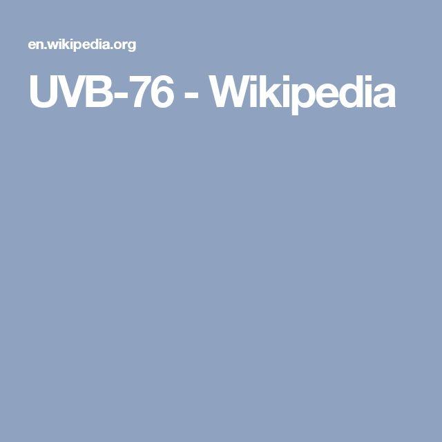 UVB-76 - Wikipedia