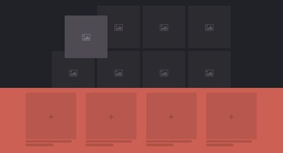 Some ideas for drag and drop interactions in a UI. The idea is to show a droppable area that stands for certain actions after an element is being dragged.|via`tko Codrops