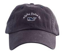 Alpha Delta Pi Navy Vineyard Vines Hat - I need this immediately