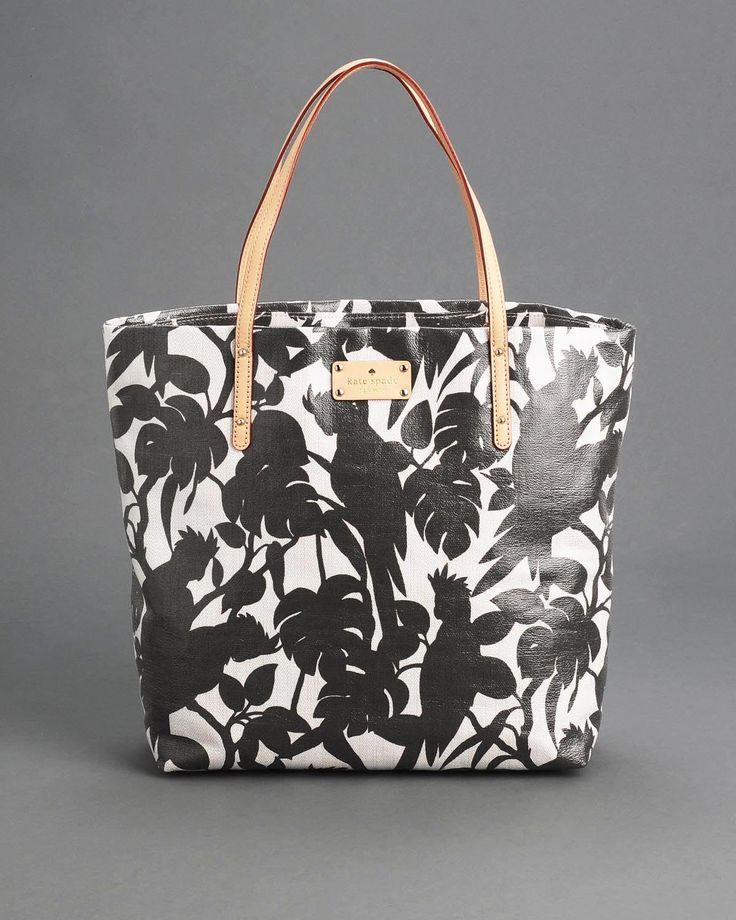 Kate Spade Florence Broadhurst Cockatoo Bon Shopper