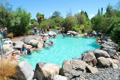 Hanmer Springs Thermal Pools South Island, New Zealand