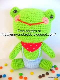 Crochet-Frog pattern