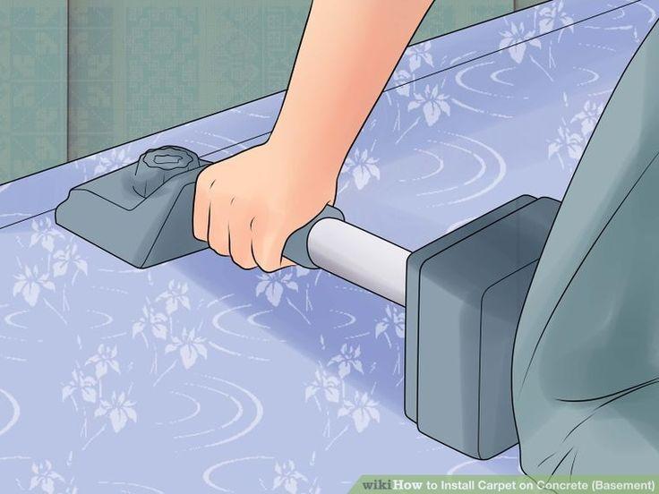 Image titled Install Carpet on Concrete (Basement) Step 18