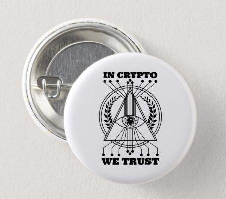 Pin, in the crypt we trust, blockchain, bitcoin. #Tattoo … #Tattoos