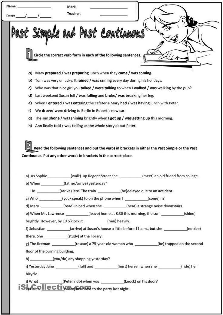 Excel, Fun Grammar Worksheets For High School Kids ...