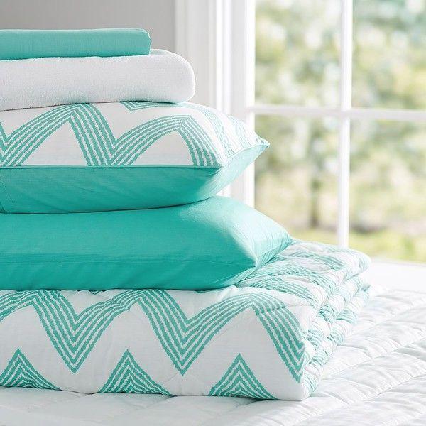 pb teen zig zag stripe deluxe value comforter set xl twin pool at