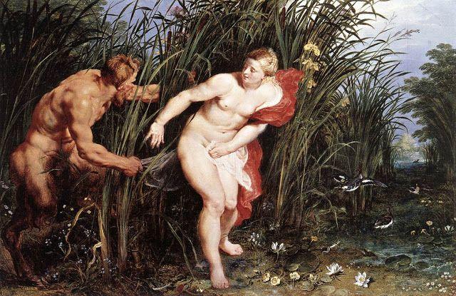 Ο Πάνας και η νύμφη Σύριγξ. (1617-19)