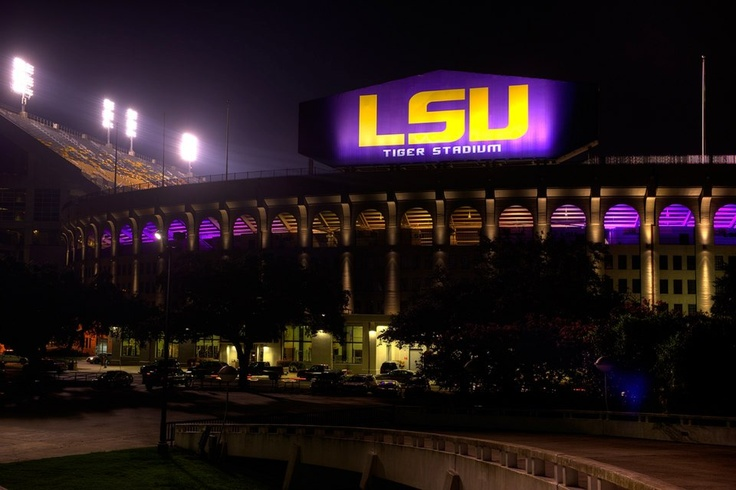 Thought Tiger Stadium couldn't be more awesome? Think again. Behold the new lighting system!