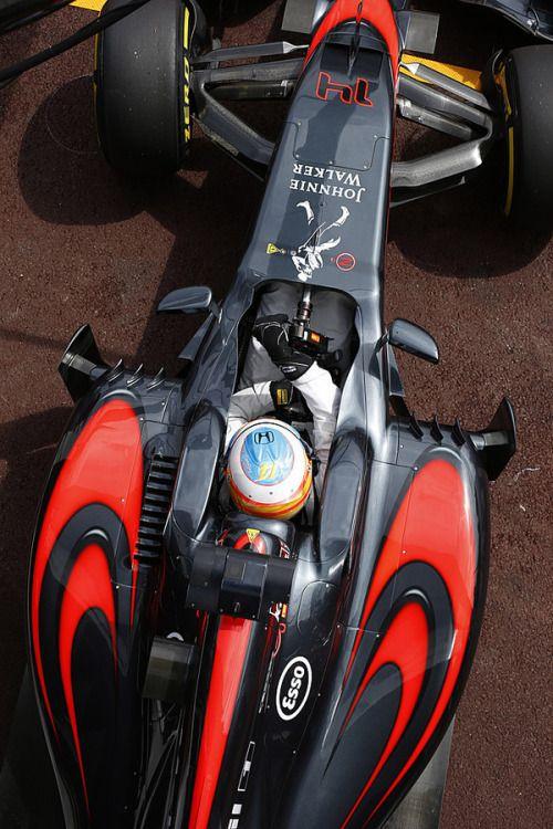 Fernando #Alonso McLaren - Honda Monaco 2015 http://technicsway.blogspot.com