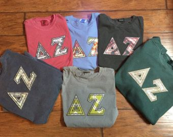 Delta zeta sorority sweatshirts