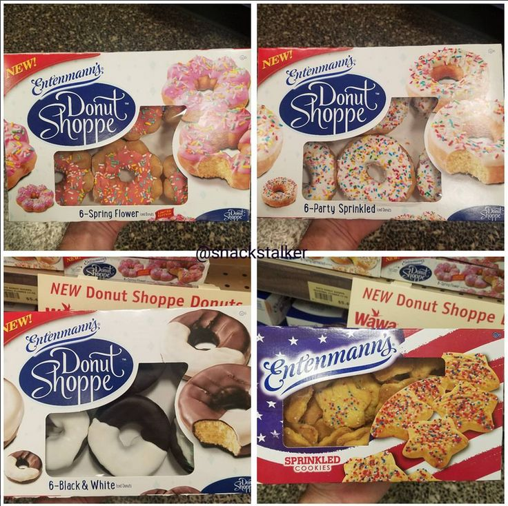 Entenmann's Donut Shops Donuts and Sprinkled Star Cookies