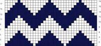 Tejer en técnica Tapestry / Desafío de septiembre | Crochet y Dos agujas