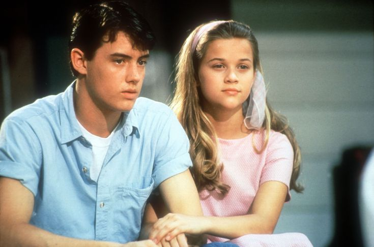 """The Man In The Moon"" movie still, 1991.  L to R: Jason London, Reese Witherspoon."