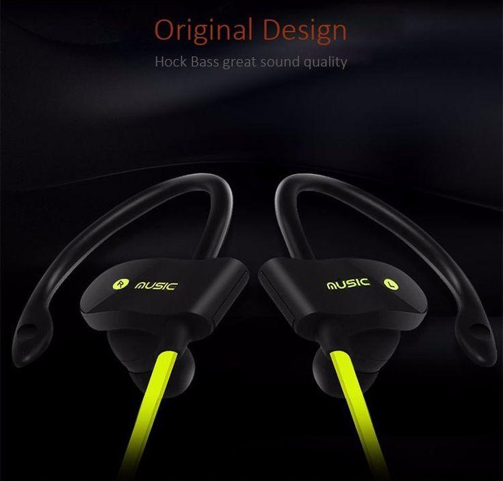 Bakeey™ S4 Sport Running Splash Proof Sweatproof CSR4.1 Bluetooth Earphone