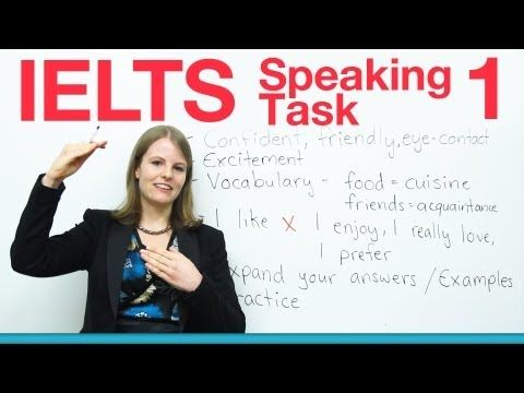 ▶ IELTS Speaking Task 1 - How to get a high score - YouTube