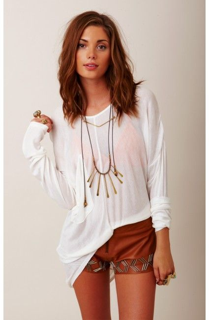 probably my ideal outfit and hair length/style all in one!