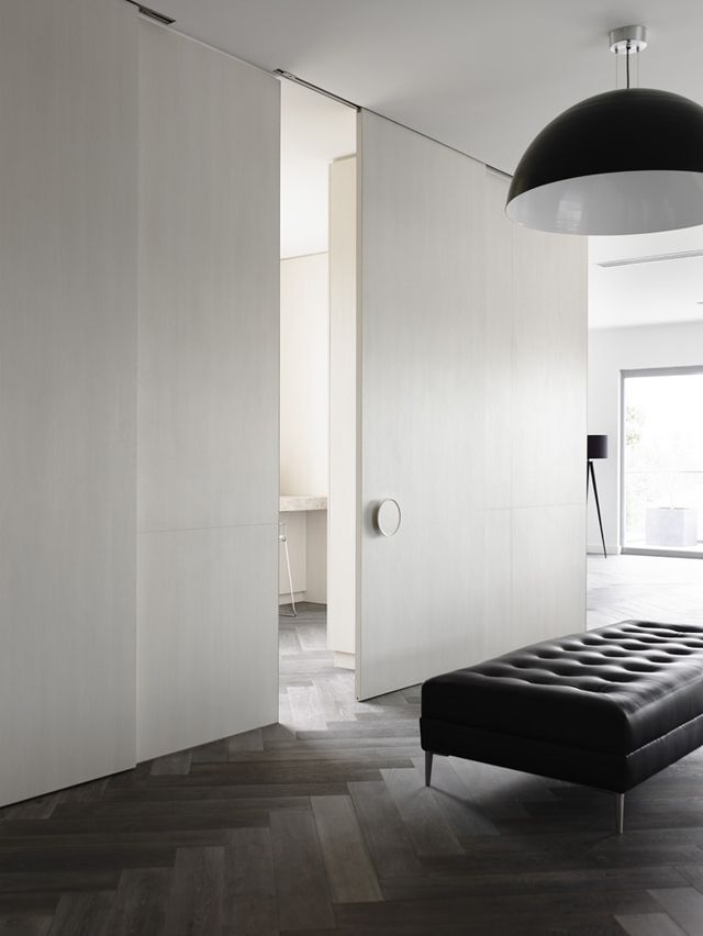 Chamberlain Javens Architects, I worked on the interior of these five spacious apartments in the leafy suburb of Toorak