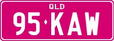 Personalised Plates Queensland.