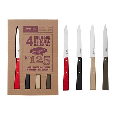 Opinel Table Knives, 98$  Terrain by Anthropologie