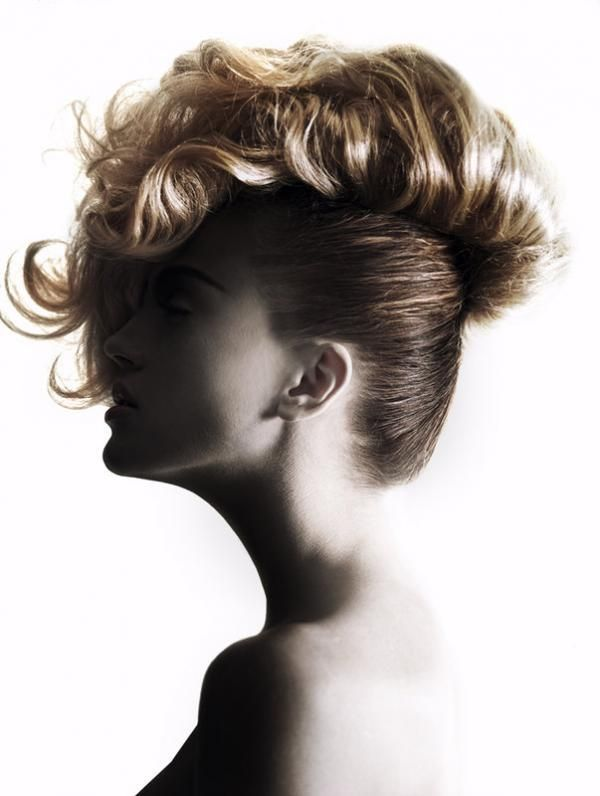 Creative hirstyles by New York based hairstylist Linh Nguyen    LOVING THIS