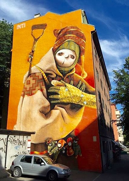 by Inti in Oslo, Norway, 7/15 (LP)